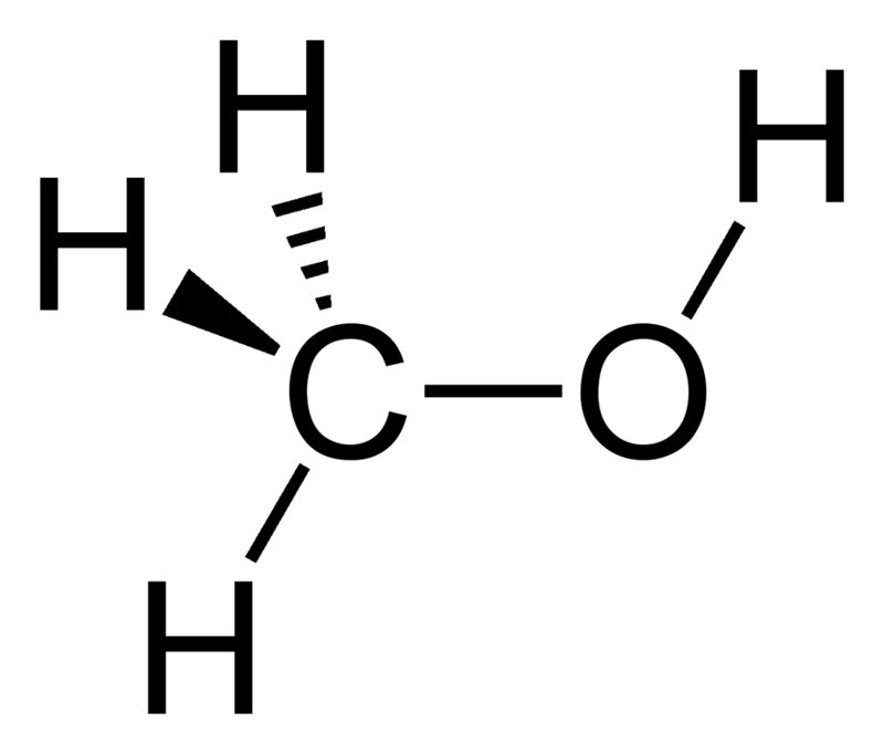 Dejstvo metanola