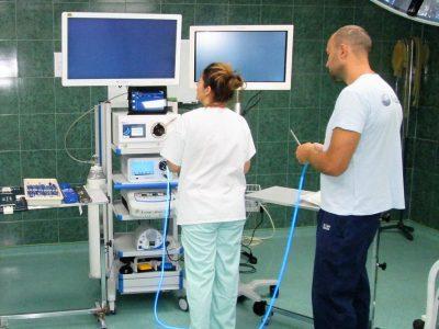 Laparaskopski stub za lozničku bolnicu