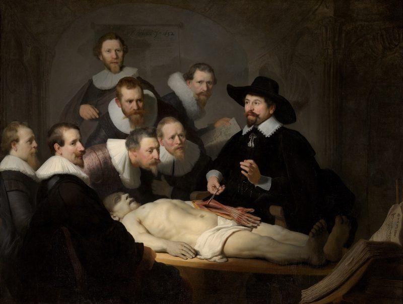 Čas anatomije profesora Tulpa – Rembrant van Rajn